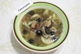 Готовое блюдо: суп Маленькая Италия