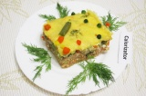 Готовое блюдо: запеканка с мясом и овощами