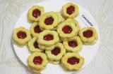 Готовое блюдо: печенье Цветочки