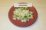 Готовое блюдо: салат из ананаса и риса