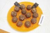 Готовое блюдо: творожно-кокосовые шарики