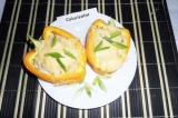 Готовое блюдо: перец фаршированный индейкой