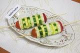 Готовое блюдо: сэндвич-шашлычок