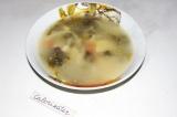 Суп с щавелем и черемшой