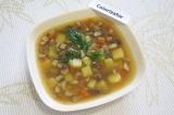 Готовое блюдо: суп Фантазия