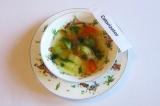 Готовое блюдо: суп Лето в блюдце