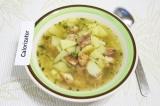 Готовое блюдо: быстрый картофельный суп
