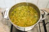 Шаг 8. Перемешать и проварить суп еще 5-7 минут. Готово!