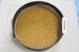 Шаг 4. Разогреть духовку до 180 С. Разъемную форму для торта диаметром 23 см