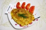 Готовое блюдо: бризоль из тилапии