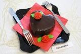 Готовое блюдо: пирожное Святой Валентин