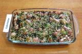 Шаг 4. Залить мясо маринадом, закрыть емкость и поставить в холодильник минимум