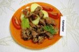 Готовое блюдо: пикантная запеченая свинина