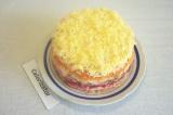 Готовое блюдо: овощной торт