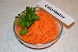Готовое блюдо: морковь по-корейски