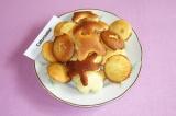 Готовое блюдо: печенье с имбирем и лаймом