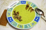 Готовое блюдо: суп-пюре из брокколи с тилапией