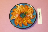 Готовое блюдо: помидоры маринованные домашние