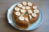 Готовое блюдо: чизкейк банановый в мультиварке