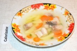 Готовое блюдо: суп рыбный легкий