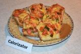 Готовое блюдо: горячие бутерброды с колбасой