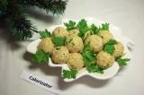 Готовое блюдо: шарики с печенью трески