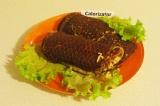 Готовое блюдо: бутерброд из тыквенной лепешки
