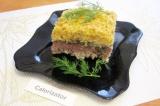 Готовое блюдо: рисовый гратен с шампиньонами
