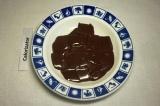 Шаг 2. Шоколад растопить на водяной бане (или в микроволновке).