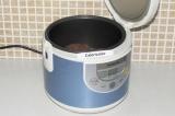 Шаг 6. Поместить корзинки в чашу мультиварки и поставить режим выпечка на 20 мин
