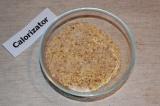 Шаг 3. Орехи измельчить в блендере. К ним добавить корицу и сахар, все хорошо пе