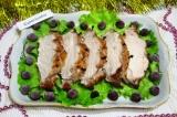 Готовое блюдо: мясо запеченное с джемом