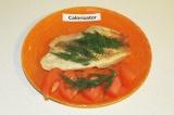 Готовое блюдо: тиляпия в грейпфрутовом фреше