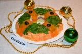 Готовое блюдо: салат Новогодний венок