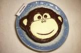 Готовое блюдо: шоколадно-банановый торт