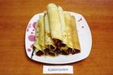 Блинный домик с джемом и орехами - как приготовить, рецепт с фото по шагам, калорийность.