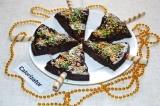 Готовое блюдо: праздничный пирог Елочка