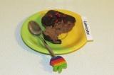 Готовое блюдо: миндальное пирожное