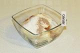 Шаг 3. Смешать все ингредиенты для крема.