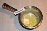 Шаг 2. Растопить сливочное масло.