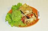 Готовое блюдо: овощная лазанья Веган
