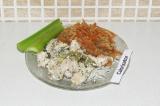 Готовое блюдо: индейка со стручковой фасолью в сливках