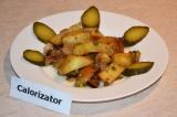 Готовое блюдо: картофель со специями в духовке