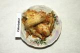 Готовое блюдо: тушеные куриные крылышки