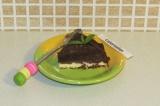 Готовое блюдо: торт с творожной прослойкой