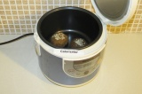 Шаг 4. Выложить в чашу мультиварки поставить на 35 минут в режиме выпечки.