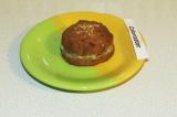 Готовое блюдо: булочка из цветной капусты с авокадо