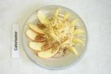 Готовое блюдо: салат с яблоком