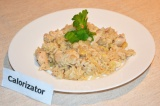Рис с имбирем и куриным филе