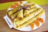Готовое блюдо: блины мандариновые